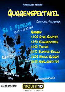 Guggenspektakel Flyer 2016
